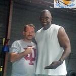 Coach David Bonnel et Ray Tolbert.